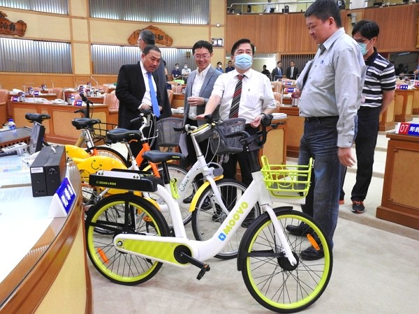 New Taipei to launch Moovo electric bike-sharing service.