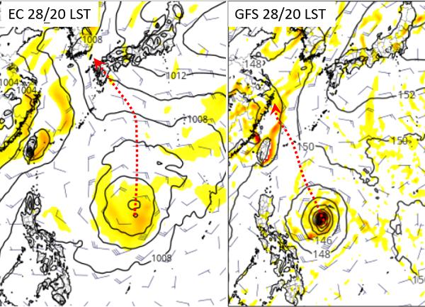 颱風尾持續影響台灣 菲律賓東方海面有熱帶擾動發展觀察中