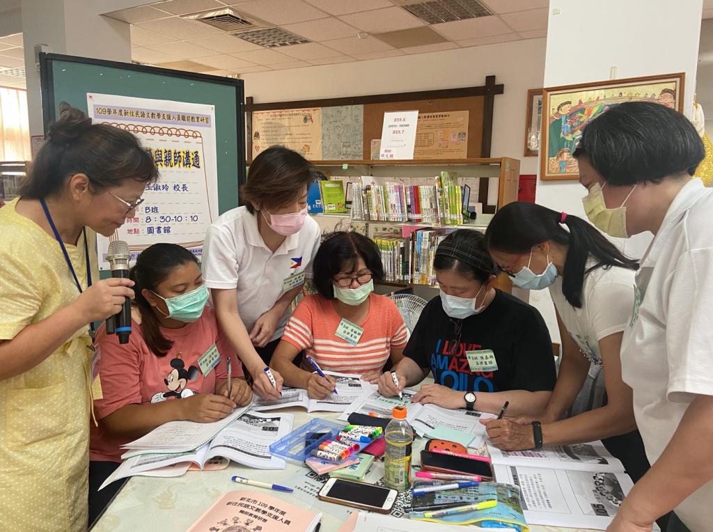 新北市實施共備社群強化師資,7 國語共148位師資整備到位,預計將開設700班新住民語文課程。(照片來源:新北市教育局)