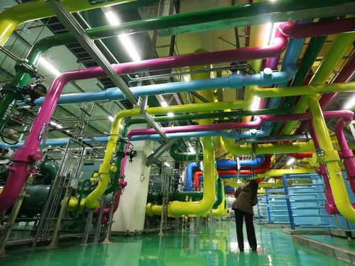 Inside Google's data center in Changhua County