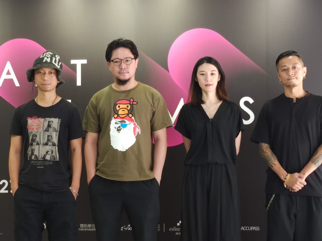 福爾摩沙國際藝術博覽會以「台灣潮」為題將於28日登場(圖為參展台灣潮之藝術家/台灣英文新聞)