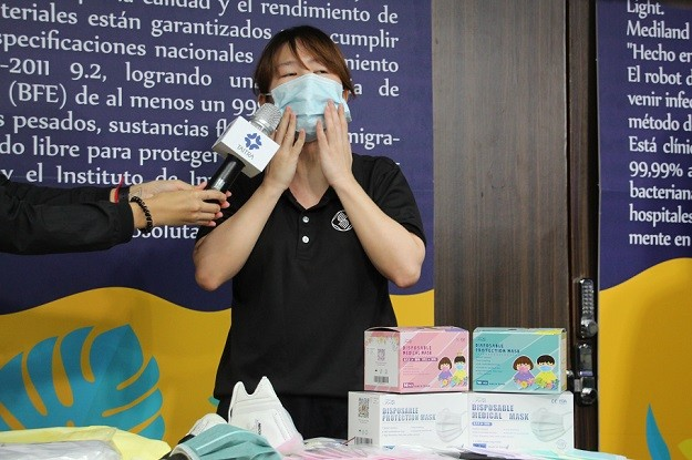 TAITRA showcases anti-epidemic products for Taiwan's Central American allies