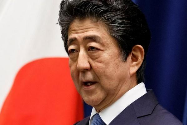 日本前首相安倍晉三 (照片來源:美聯社提供)