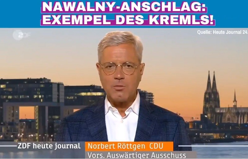 德國國會外交委員會主席洛特根(Norbert Röttgen)檔案照片 (圖/取自推特)