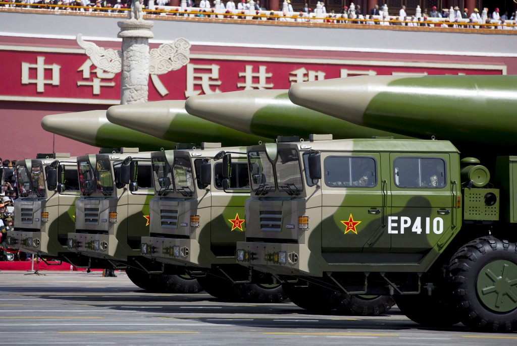 Chinese ballistic missiles (Reuters photo)