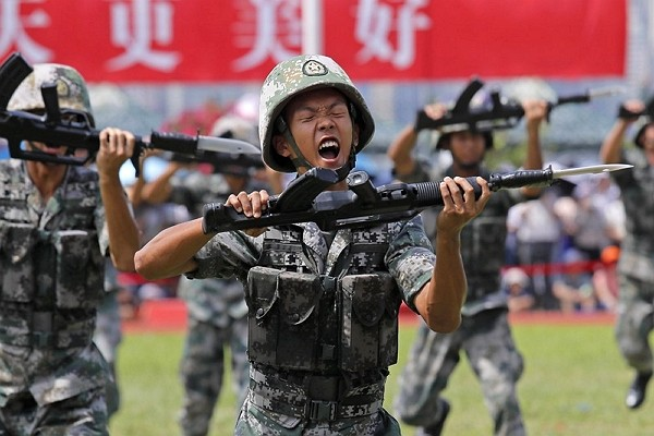 China continues to enhance its military capabilities.