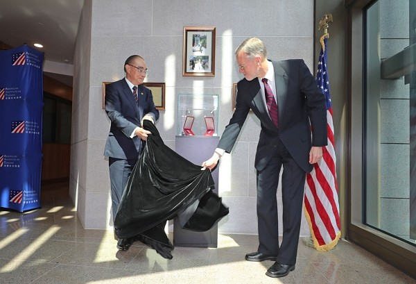 AIT unveils memorial honoring fallen U.S. soldiers.