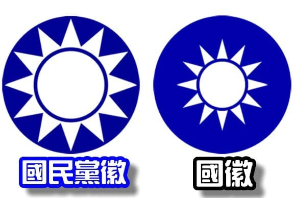 Taiwan small parties suggest new KMT emblem to avoid passport confusion