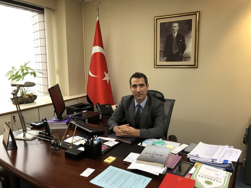 Turkey's Representative to Taiwan Muhammed Berdibek