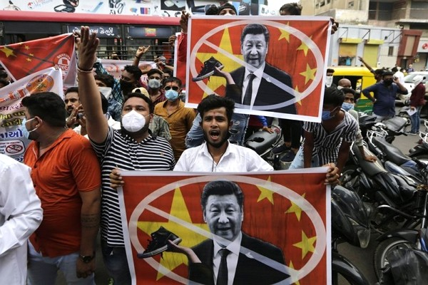 Tensions between China and India continue.