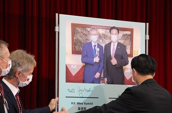 Czech Senate speaker declares mission accomplished in Taiwan