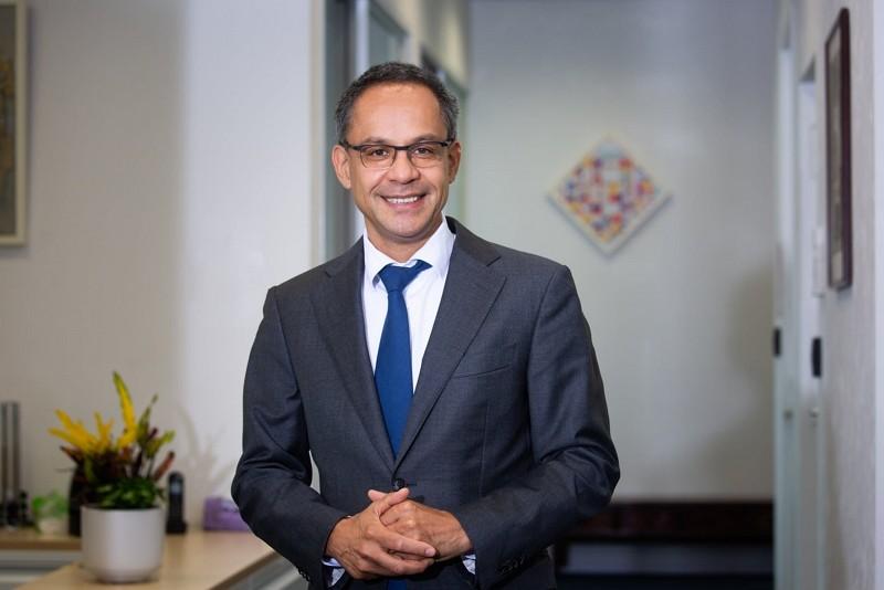 Guido Tielman, the new Representative of the Netherlands Office Taipei (Facebook, Netherlands Office Taipei photo)