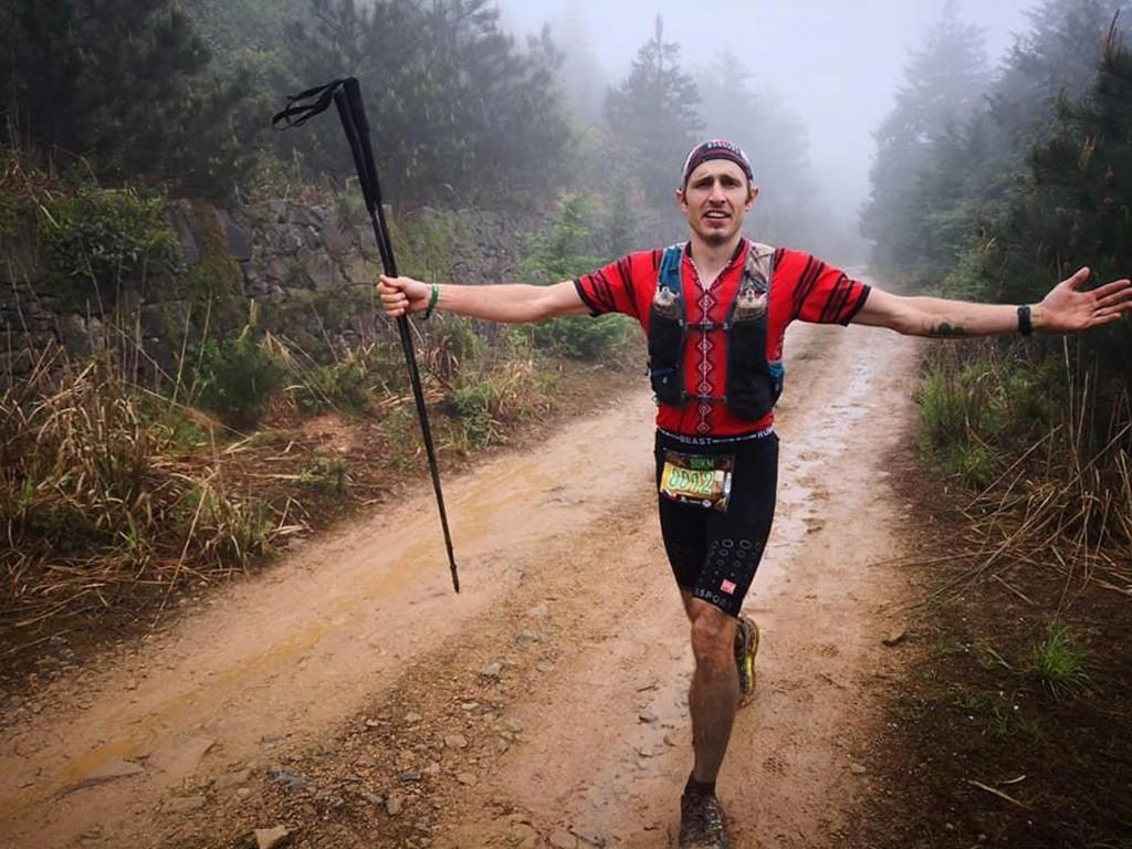 'Taiwan Beast Runner' Petr Novotny (CNA, Petr Novotny photo)