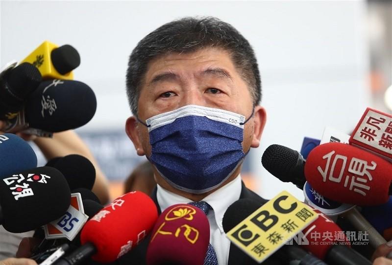 衛福部長同時也是疫情指揮中心指揮官陳時中, 被點名為參選2022台北市長的民進黨內人選之一。(中央社)