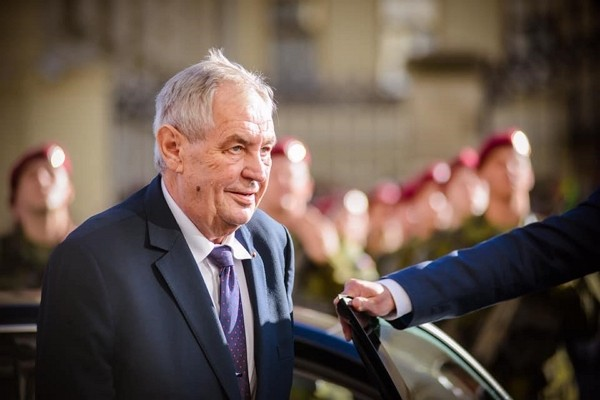 Czech President Milos Zeman. (Facebook, Milos Zeman photo)