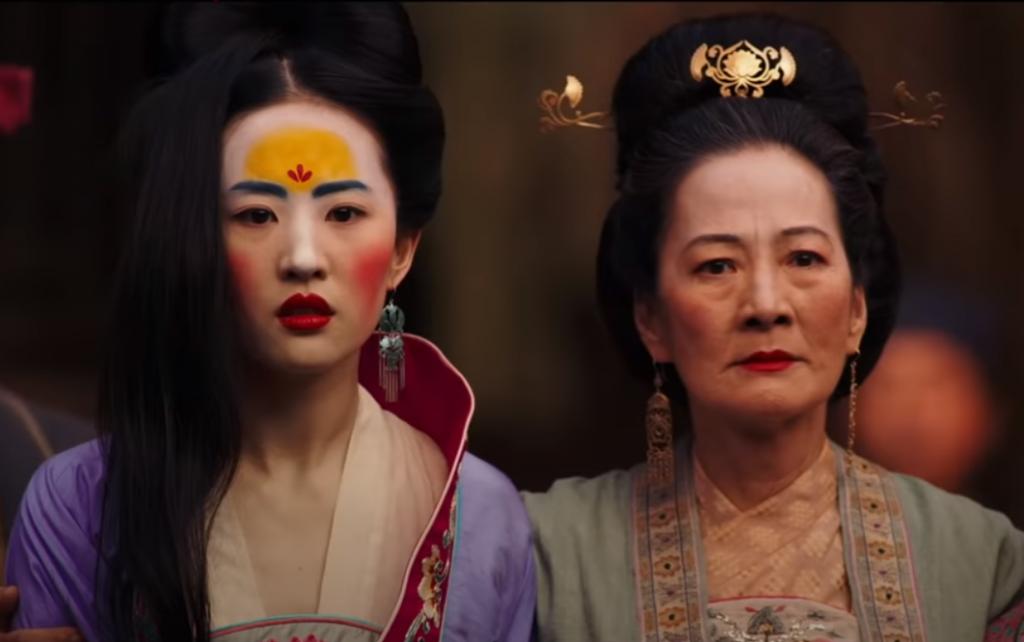 電影《花木蘭》全台首周票房奪冠(圖擷取自電影預告)