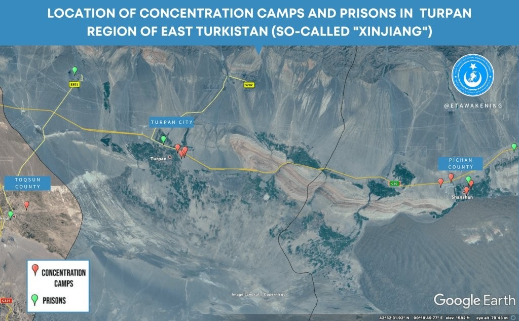 'Mulan' Xinjiang scenes filmed near 10 internment camps, 5 prisons