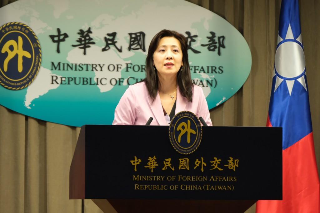MOFA Spokesperson Joanne Ou (Taiwan News photo)
