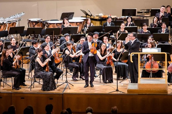 Taiwan'sNational Symphony Orchestra.
