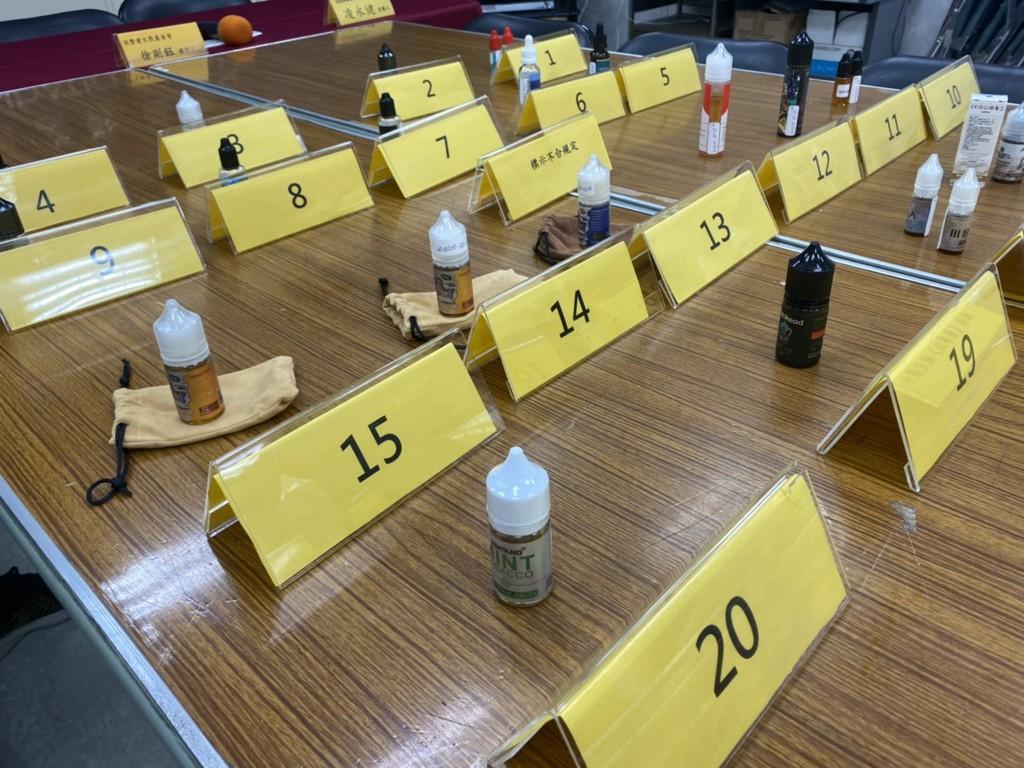 台灣消基會抽驗20件電子菸油全數違法 逾半含尼古丁