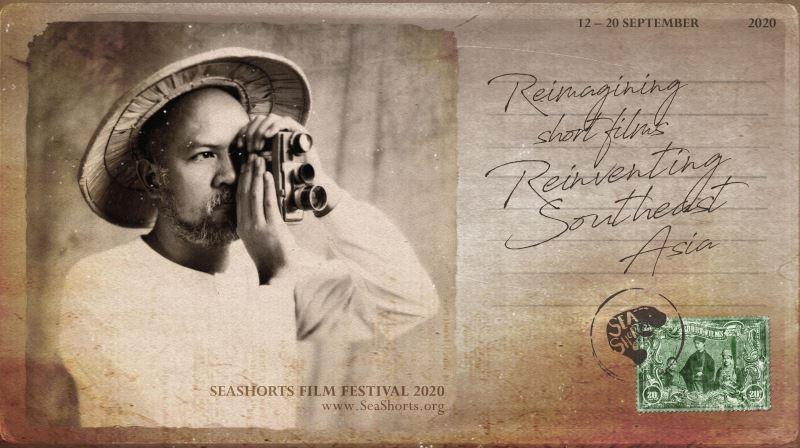 第四屆「東南亞短片節」(2020 SeaShorts Film Festival)宣傳海報(翻攝自文化部網站)
