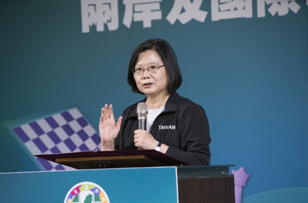 總統兼民進黨主席蔡英文(照片來源:民進黨提供)