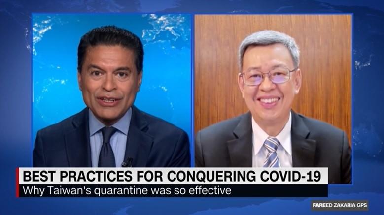 CNN lauds Taiwan's healthcare system for defeating coronavirus