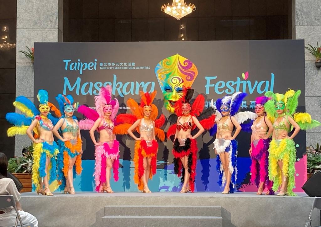 不出國也能體驗!台北首辦「菲律賓面具節」 邀民眾盛裝踩街體驗異國風情