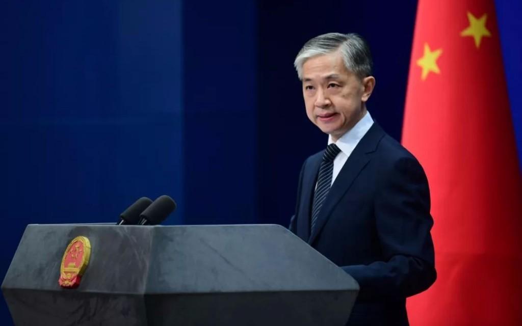 Wang Wenbin. (Global Times photo)