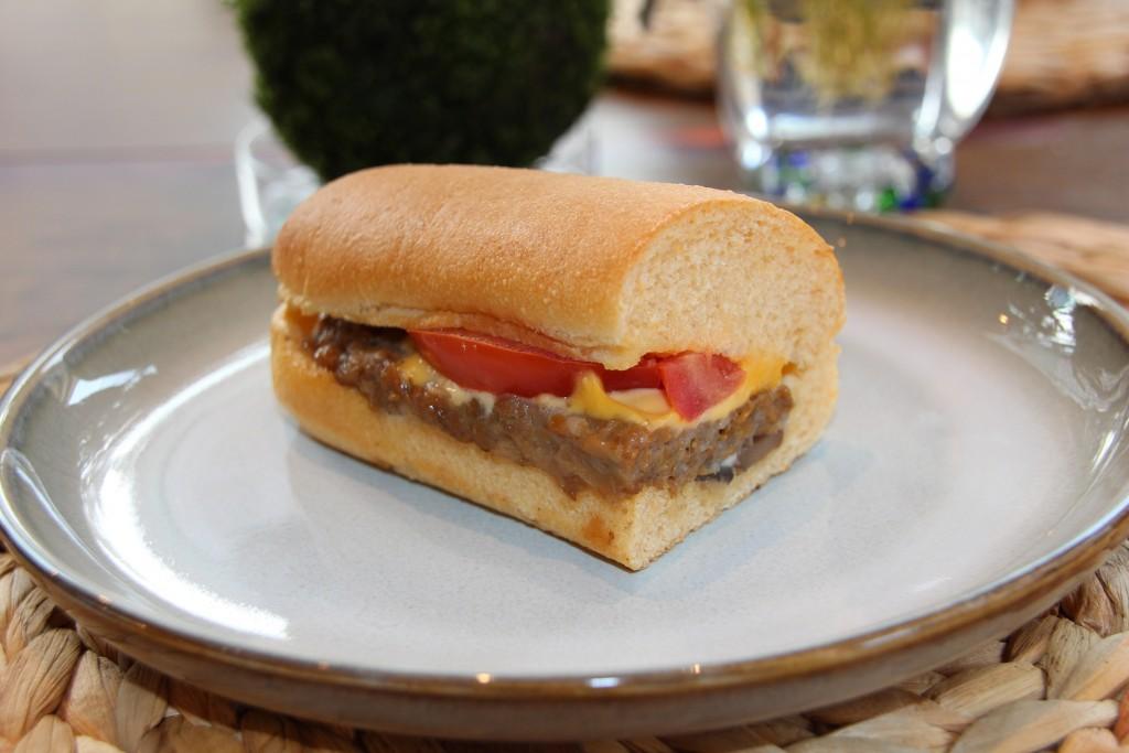Starbucks Taiwan adds Beyond Meat Sausage Sandwich to menu.