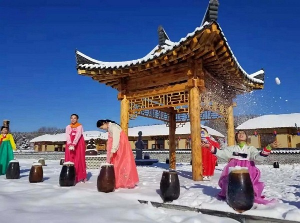 Chinese Koreansworry language may bein crosshairs amid Beijing's education reforms. (Weibo,Jilin Travel photo)