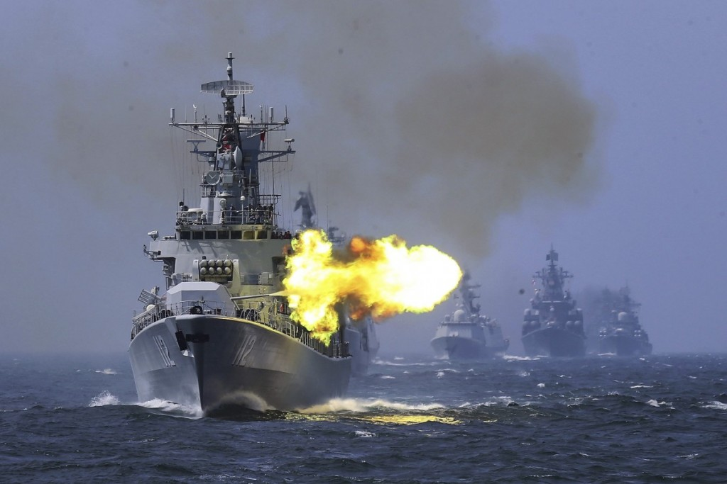 Chinese military activity close to Taiwan has intensified over the past year