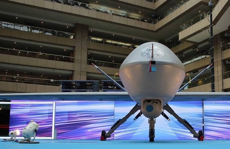 Domestically produced Teng Yun drone.