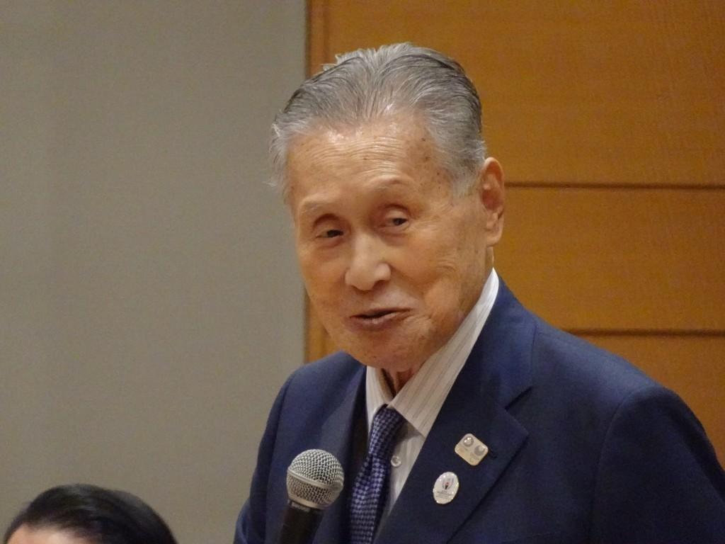 日本前首相森喜朗(圖/ 中央社)