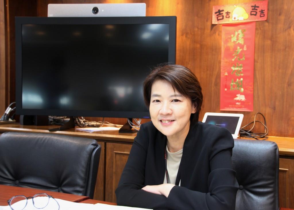 Taipei Deputy Mayor Huang Shan-shan. (Taiwan News photo)
