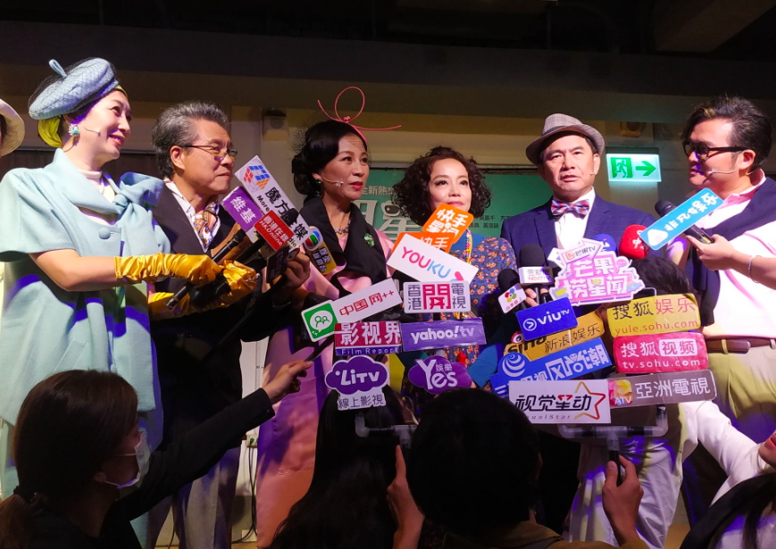 舞台劇「明星養老院」由黃嘉千、楊烈領銜主演,首場將於12月4日高雄幽默登場(圖/台灣英文新聞)