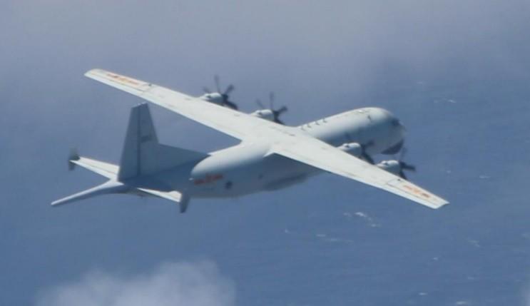2 Chinese anti-submarine aircraft violate Taiwan's ADIZ