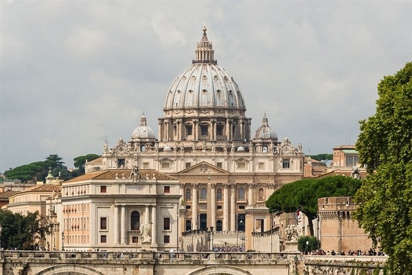 St. Peter's Basilica in Vatican City. (Wikimedia Commons photo)