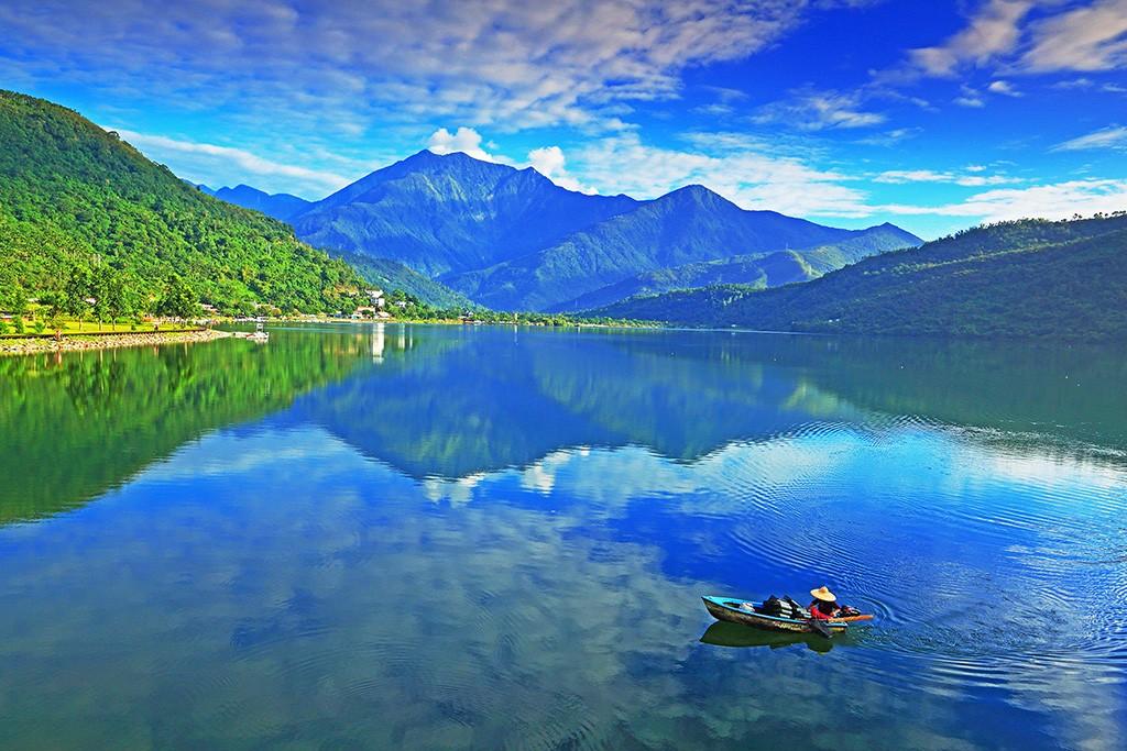Liyu Lake in Hualien County. (Taiwan Tourism Bureau photo)