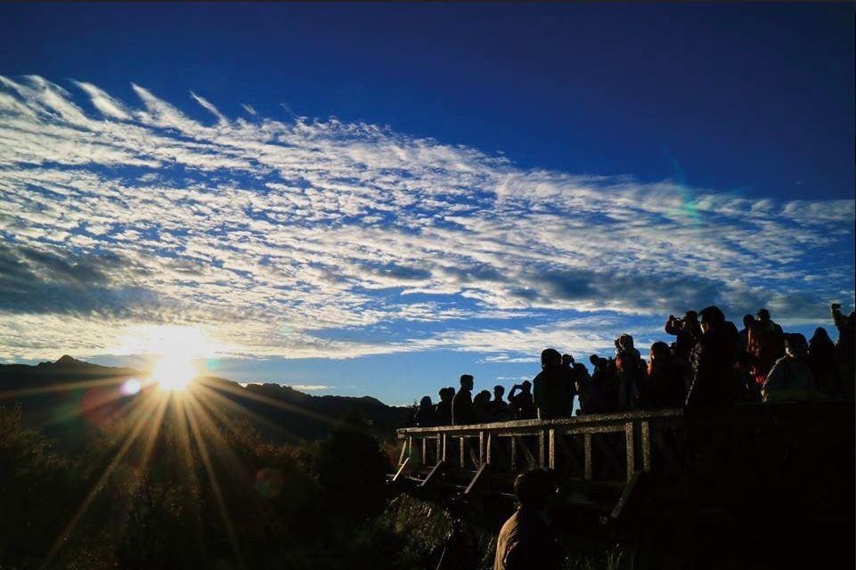 小笠原日出。(照片來源:林務局提供 / 志彰 拍攝)