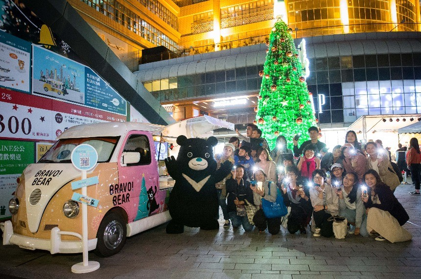 Taipei to hold Christmas festival in 4 shopping districts | Taiwan