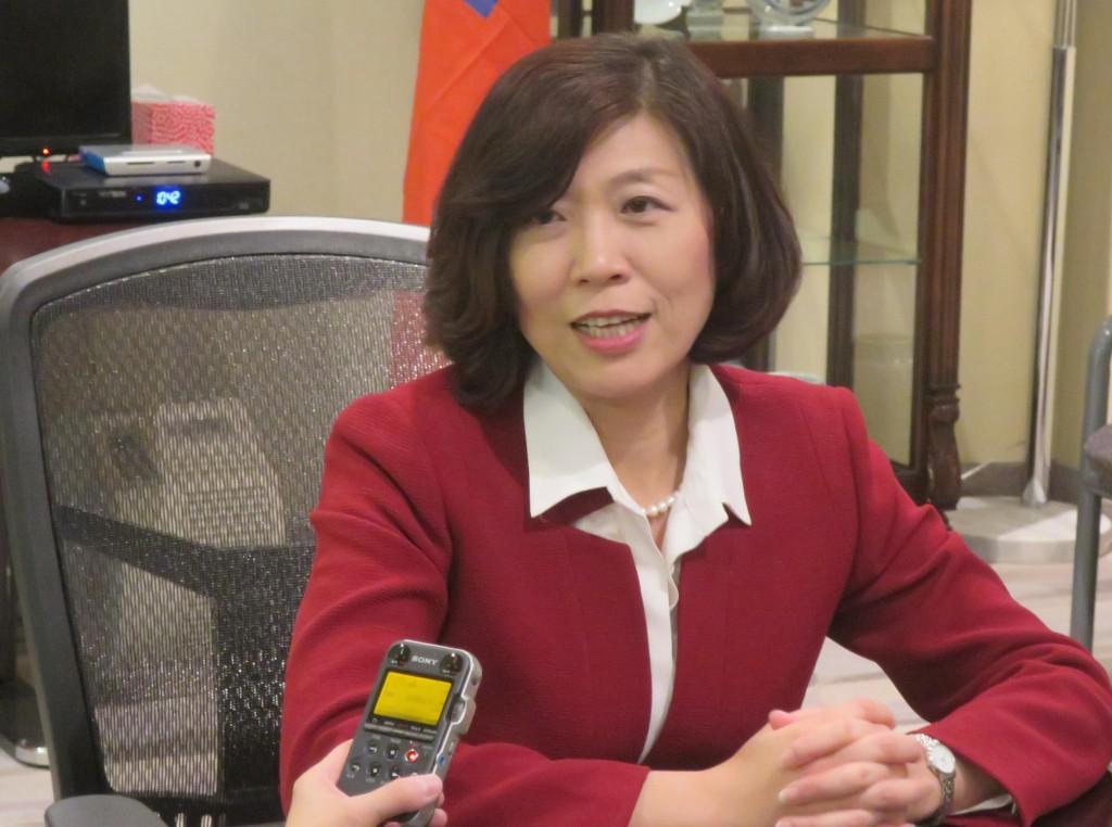 TECO-Toronto Director-General Catherine Hsu. (TECO-Toronto photo)