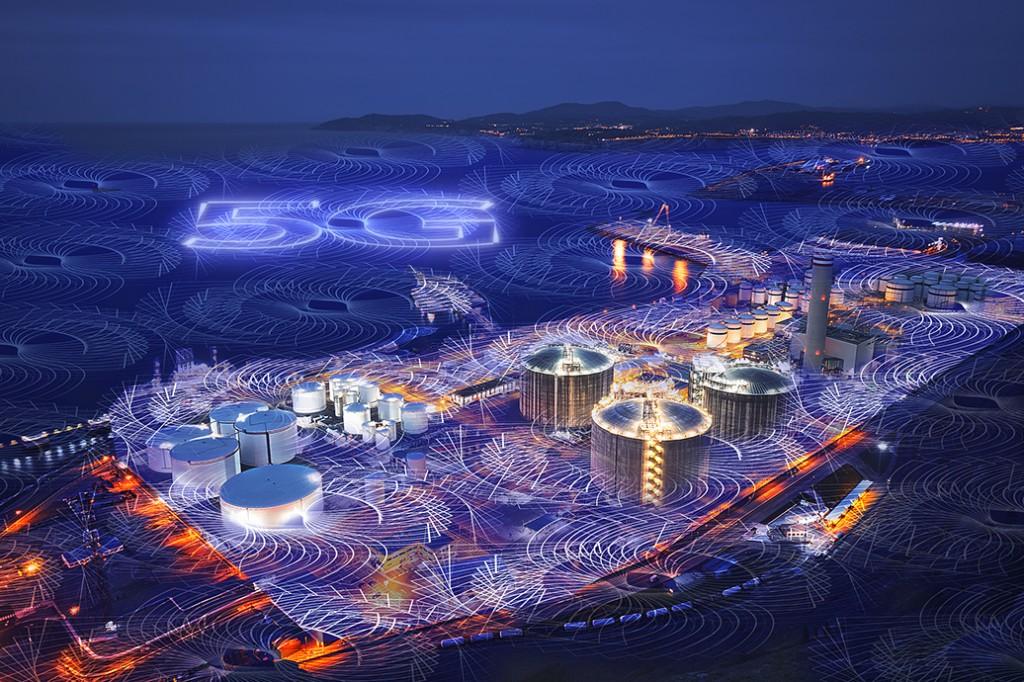 示意圖 / 建構完整5G合作生態圈,打造數位化工廠。(圖片由西門子台灣提供)