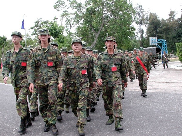 Taiwan military mulls increasing frequency of reservist call-ups