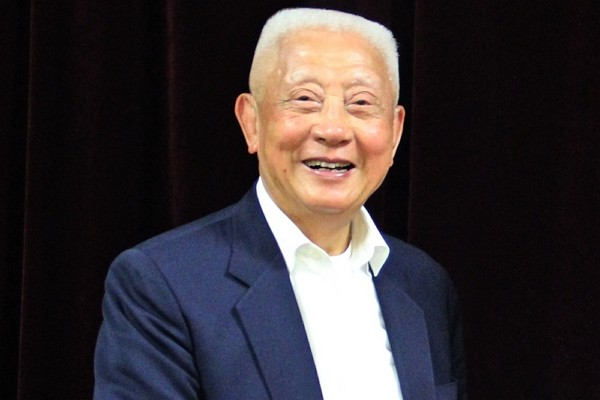 Retired Taiwanese general Chen Ting-chung. (Huadong Taiwan Businessman's School photo)