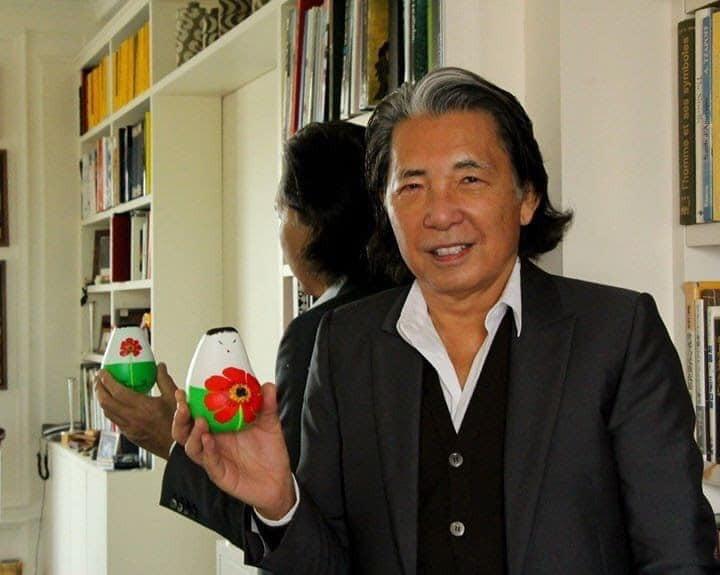 日本知名服裝設計師高田賢三染新冠肺炎病逝,享壽81歲。 (圖/小法師計畫臉書)