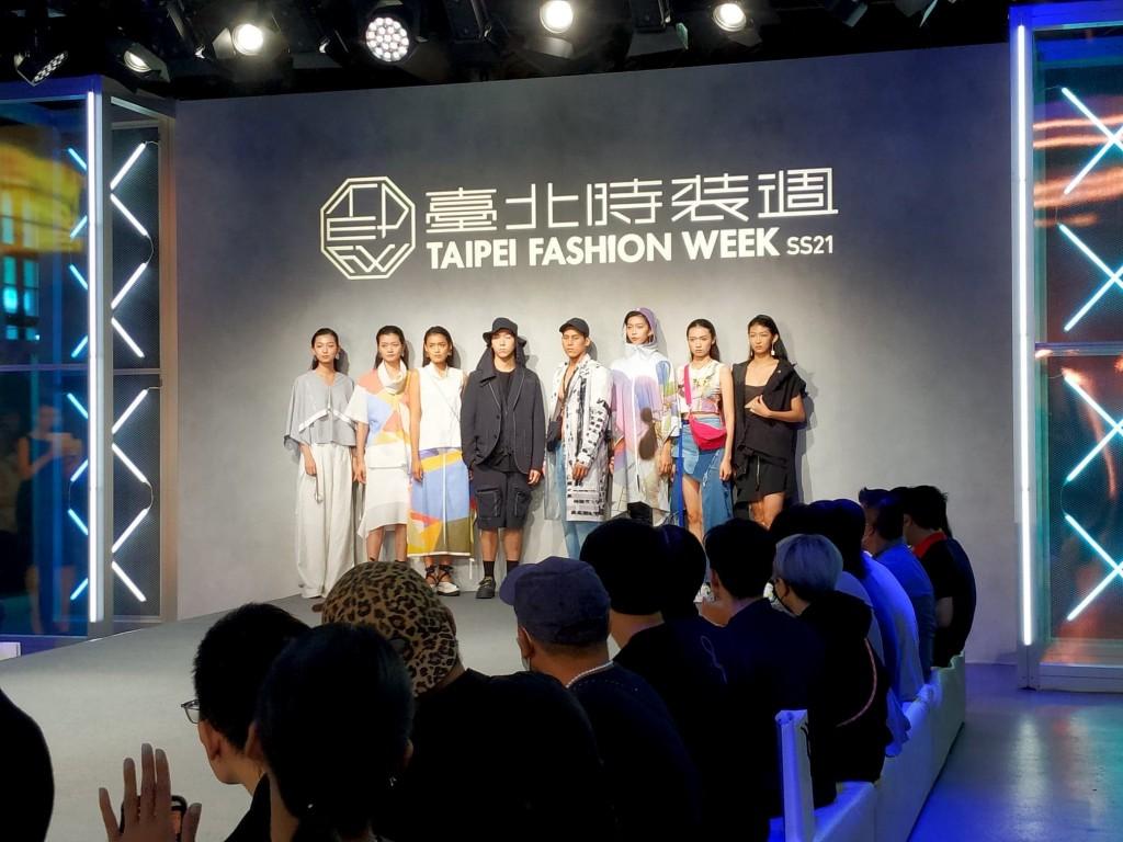 2020 Taipei fashion week SS21 kicked off Tuesday (Oct. 6). (Taiwan News photo)