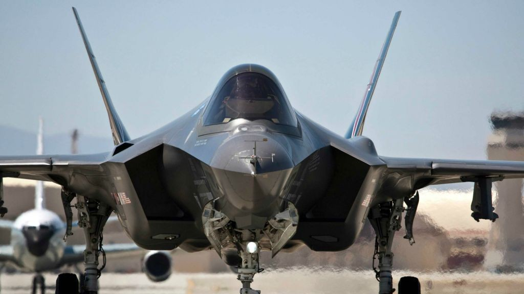 The F-35 stealth jet