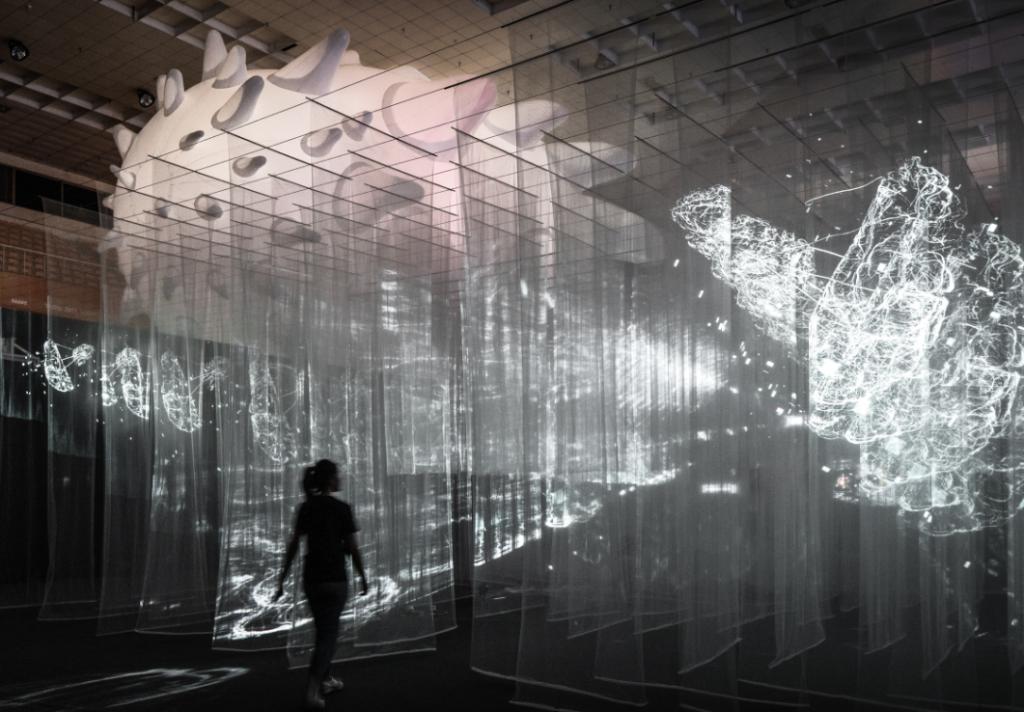最後一天的台灣設計展透過連結新竹科技力及設計力打造好玩展覽(圖/台灣設計展)