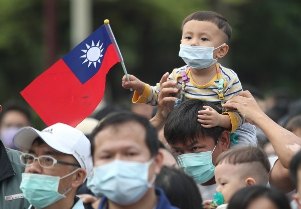 Taiwanese participate innational day celebration Oct. 10.